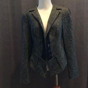 Tweed Baskerville with Ribbon Trim Pant Suit